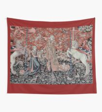 Lady & the Unicorn Tapestry Wall Tapestry
