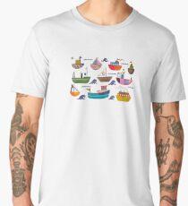 So many boats! Men's Premium T-Shirt