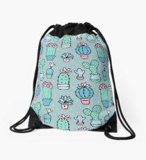 Pretty Cacti Drawstring Bag