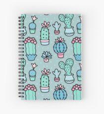 Pretty Cacti Spiral Notebook
