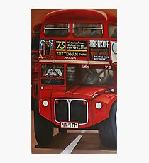 ROUTE MASTER BUS #73 Photographic Print