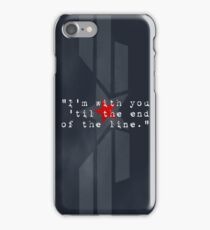 Cap & Bucky  iPhone Case/Skin