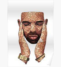 Geometrical Drake Poster