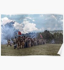 Confederate Soldiers Poster