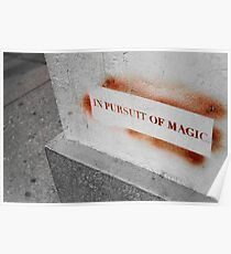 In Pursuit of Magic Poster