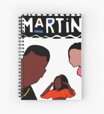 Martin (White) Spiral Notebook