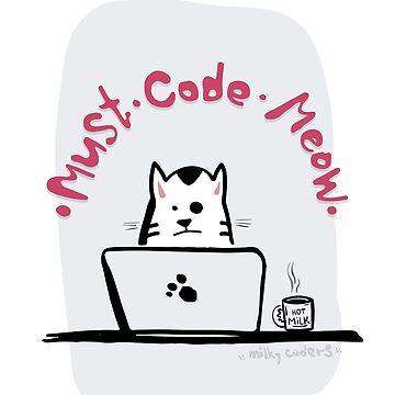 Cat Coder by cvetim