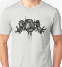 Retro Robot Print T-Shirt