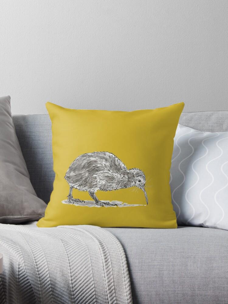Kiwi Bird by Dan Tabata