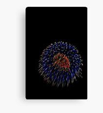 Fireworks C4 Canvas Print