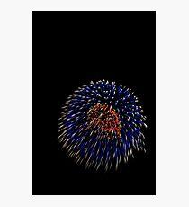 Fireworks C4 Photographic Print