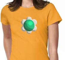 Princess Daisy Broach Womens Fitted T-Shirt