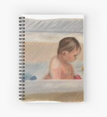 Tub Time Spiral Notebook