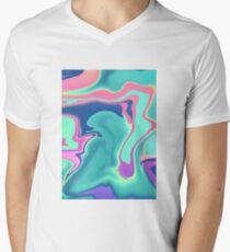 Lava Sea Men's V-Neck T-Shirt