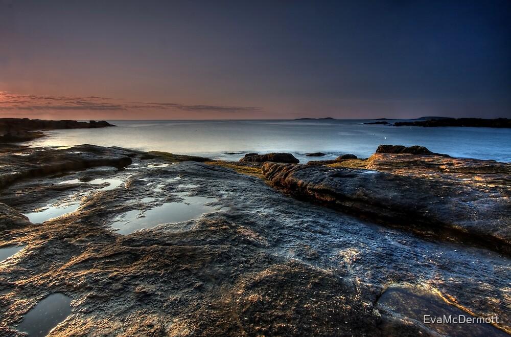 Ocean Point Dawn by EvaMcDermott