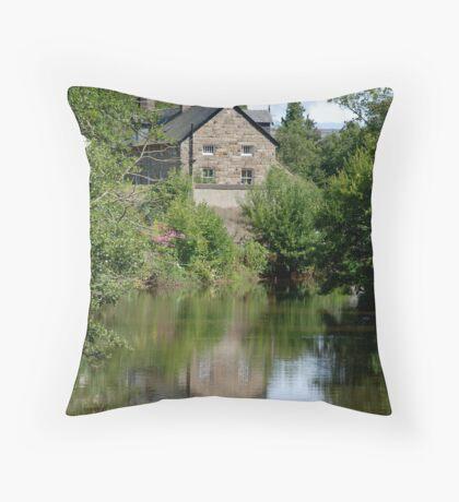 Egton Bridge Remembered Throw Pillow
