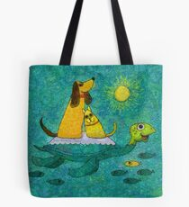 THEY AINT HEAVY, THEY'RE MY FRIENDS Tote Bag