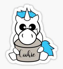 Cookie Jar Unicorn Sticker