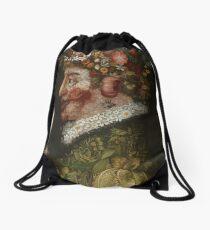 La Primavera by Giuseppe Arcimboldo Drawstring Bag