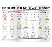 functional groups in organic chemistry posters by compound interest