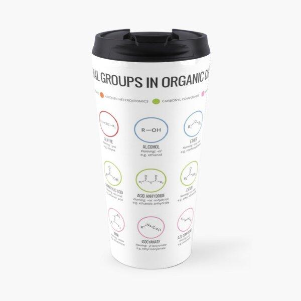Functional Groups in Organic Chemistry Travel Mug