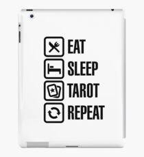 Eat Sleep Tarot Repeat iPad Case/Skin