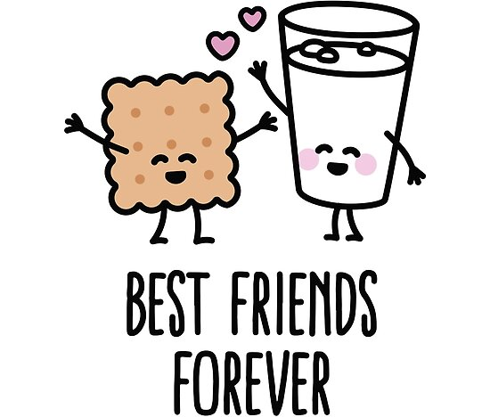 best friends forever posters by laundryfactory redbubble