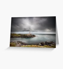 Eilean Glas Lighthouse Greeting Card