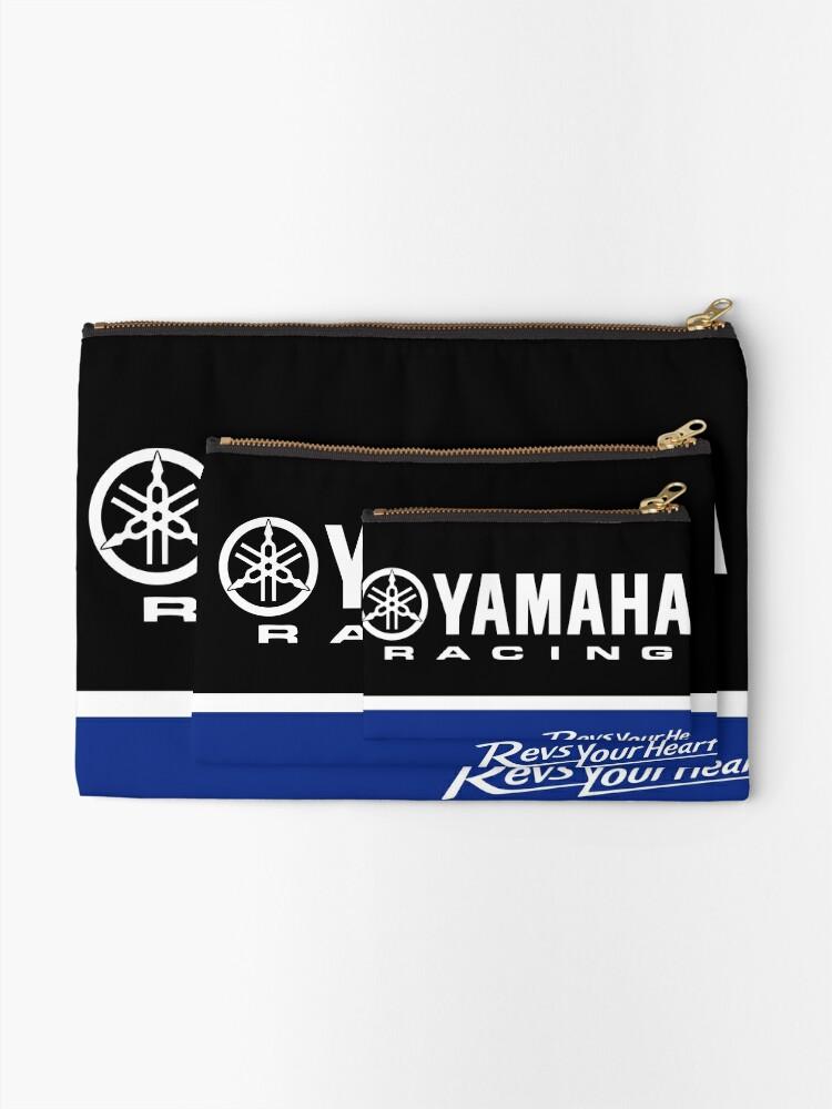 Alternate view of YAMAHA Blue Zipper Pouch