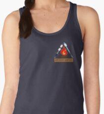 Nerd Music Campfire Small Logo Women's Tank Top
