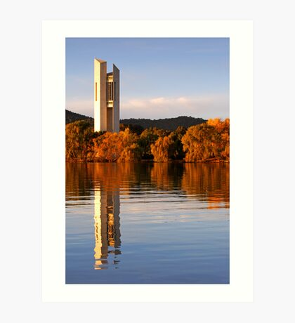 National Carillon Canberra Art Print