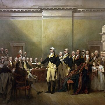 General George Washington Resigned his Commission in Annapolis, Maryland (1) by DeplorableLib