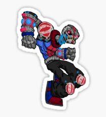 battle bot: spine smasher... Sticker
