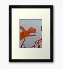 The Non-Erring Line is a Papercut Framed Print