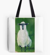 Counting Sheep in the Green Tote Bag