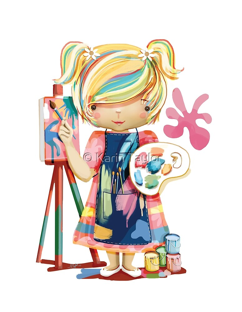 The Little Artist by Karin Taylor