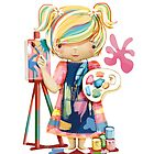 The Little Artist by © Karin Taylor