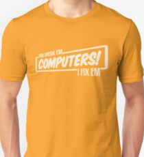 I Fix Computers (light) T-Shirt