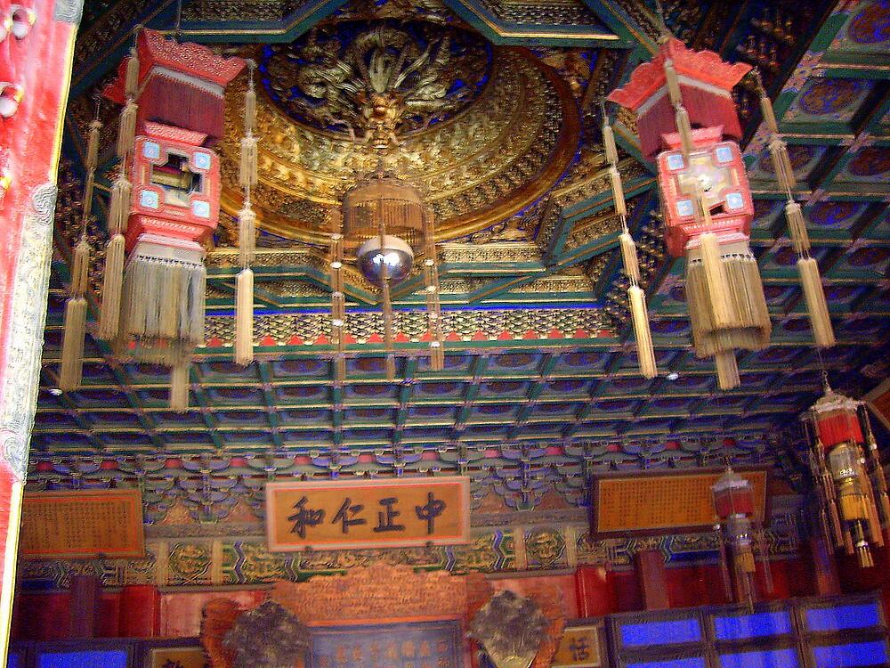 """The Tibetan Temple . ."" by lurline"