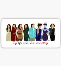 Regina Mills - Hero/Villain Sticker