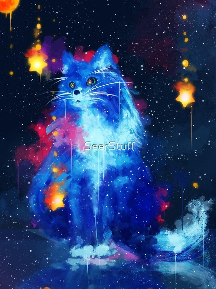 Kosmische Katze von SeerStuff