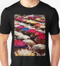 Colourful Wax Flower Trinkets Unisex T-Shirt