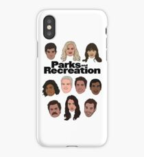 Parks & Recreation Crew iPhone Case/Skin