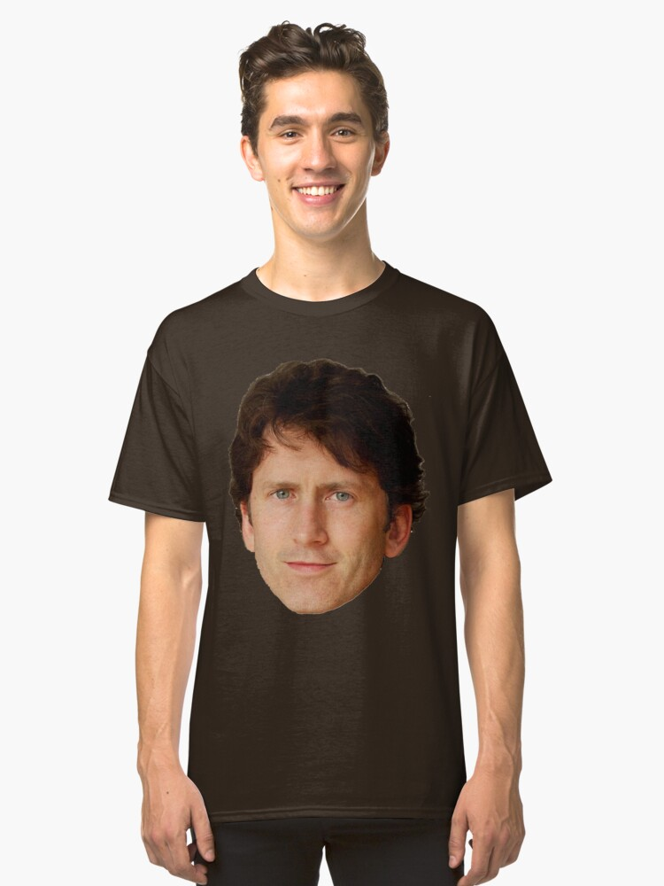 Todd Howard Classic T-Shirt Front