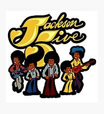 Jackson Five Photographic Print