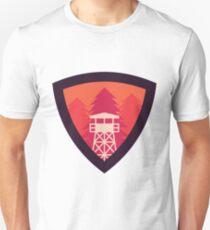 Watchtower Shield- Firewatch edition Unisex T-Shirt