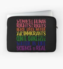 Political Protest - United we are stronger Laptop Sleeve