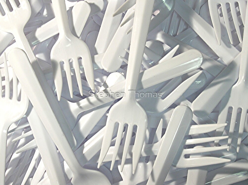 Plastic Forks by Stephen Thomas