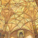 Mosteiro dos Jerónimos. Jerónimos Monastery. watercolor by terezadelpilar ~ art & architecture