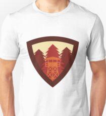 Watchtower Shield- Autumn dusk Unisex T-Shirt